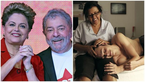 """Em evento da Globo, diretora de """"Que Horas Ela Volta?"""" dedica prêmio a Lula e Dilma"""