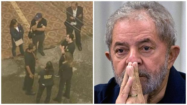 PF faz operação na casa de Lula e leva ex-presidente para prestar depoimento