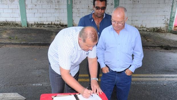 Paulo Garcia lança obras de reforma de Cmei