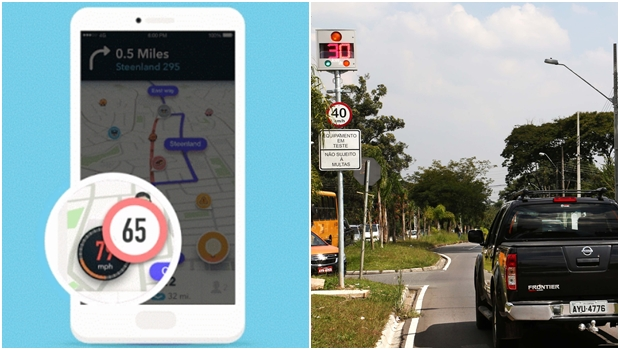 Waze agora te ajuda a evitar multas por excesso de velocidade