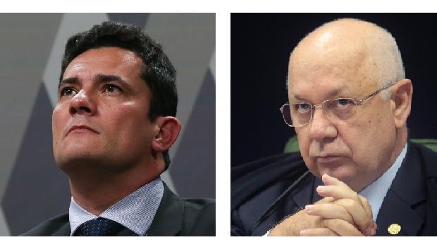 Sergio Moro e Teori Zavascki: dois magistrados competentes e íntegros, o primeiro mais e o segundo menos contundente