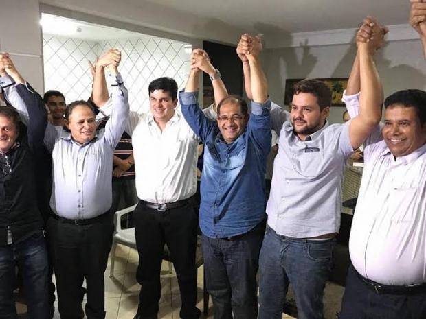 Carlos Antônio e Jean Carlos e Elismar Veiga