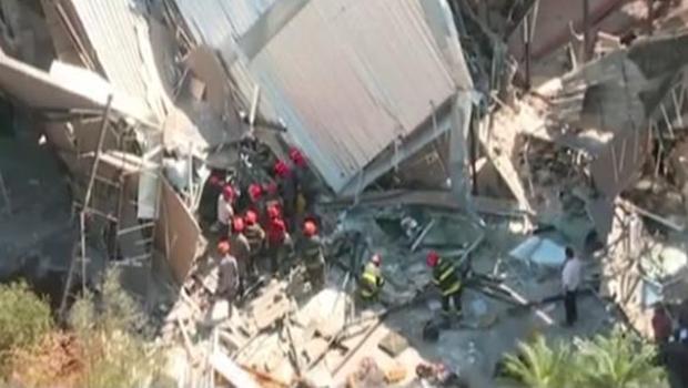 Desabamento em obra na capital paulista deixa um morto e cinco feridos