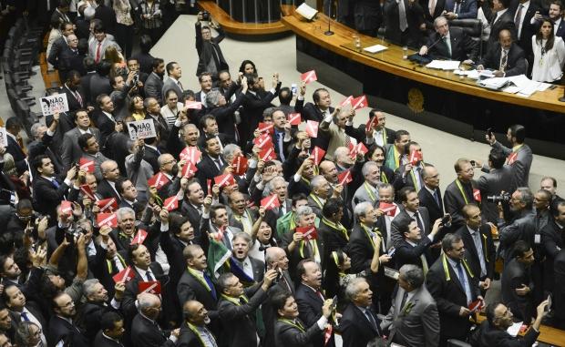 Plenário da Câmara dos Deputados: qualquer resultado será histórico | Foto: Fabio Rodrigues Pozzebom/Agência Brasil
