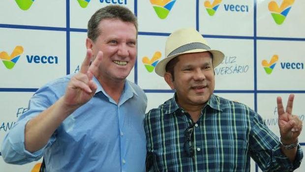 PP e Sandes Júnior anunciam apoio a Giuseppe Vecci na quinta-feira