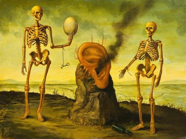 Mike Davis ddd Pinturas-surrealistas-modernas-óleo-Mike-Davis-2