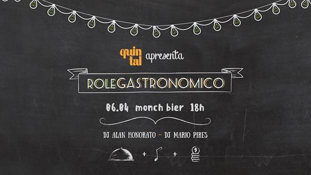 Rolê Gastronômico Quintal realiza happy hour no Monch Bier