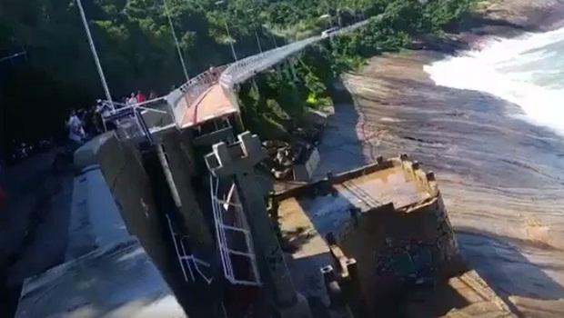 Ciclovia desaba no Rio de Janeiro e causa morte de pelo menos duas pessoas