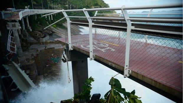 Desabamento de ciclovia foi causado por erro de projeto, diz conselheiro do Crea