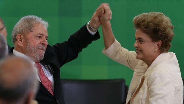 Lula da Silva e Dilma Rousseff: os dois presidentes petistas devastaram a política, a moral e a economia do Brasil