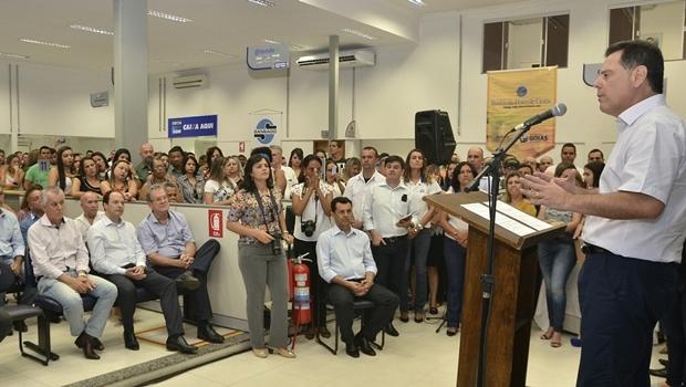 Governador destaca avaliação positiva do Vapt Vupt que supera os 90% em todo o Estado | Foto: Rodrigo Cabral