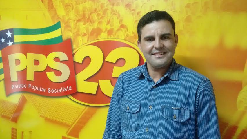 O líder comunitário Baiano, do Setor Pedro Ludovico, vai disputar mandato de vereador pelo PPS
