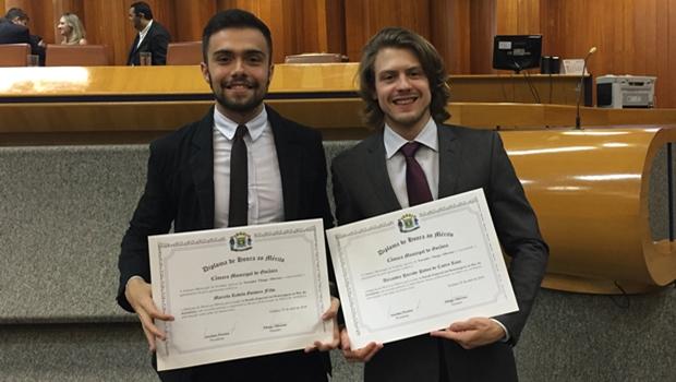 Repórteres do Jornal Opção são homenageados durante sessão na Câmara