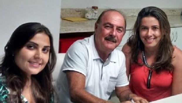 Sabrina Garcez, Zacharias Calil e Rosi Guimarães: comando do PMB em Goiás