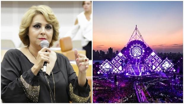 Requerimento deve ser apresentado pela vereadora do PMN Cida Garcez | Foto: Divulgação e Câmara de Goiânia