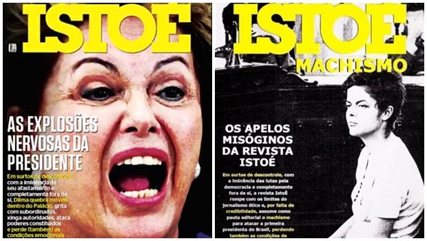 Capa da IstoÉ com Dilma gera polêmica e acusações de machismo