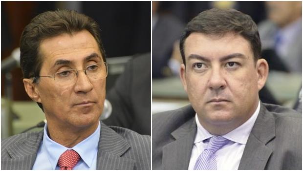 Chiquinho Oliveira e José Vitti: querem ser presidente | Fotos: Alego