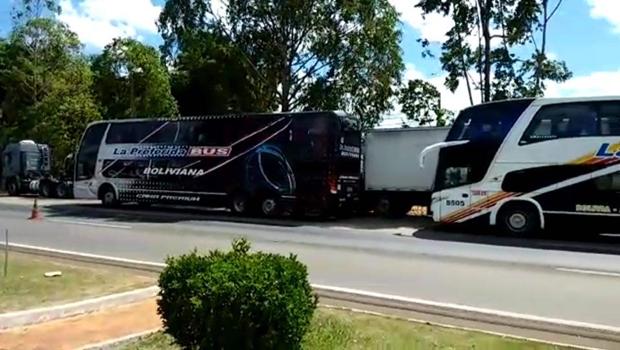 Grupo Sion esclarece que ônibus bolivianos apreendidos em Anápolis iam para Abadiânia