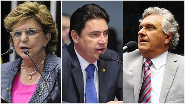 Fechados contra Dilma, senadores goianos já falam sobre futuro governo Temer