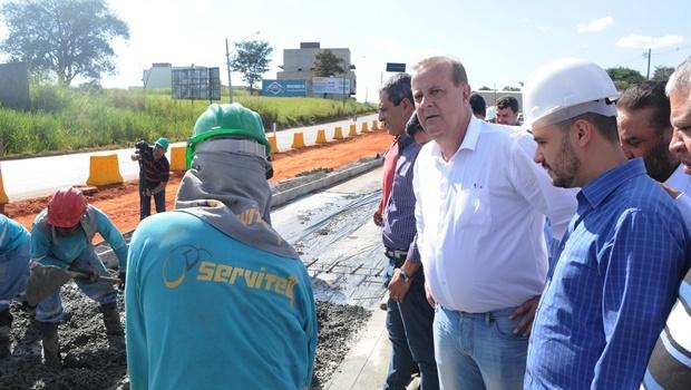 Visita Paulo Garcia Obras do VLT | Foto: Renan Accioly