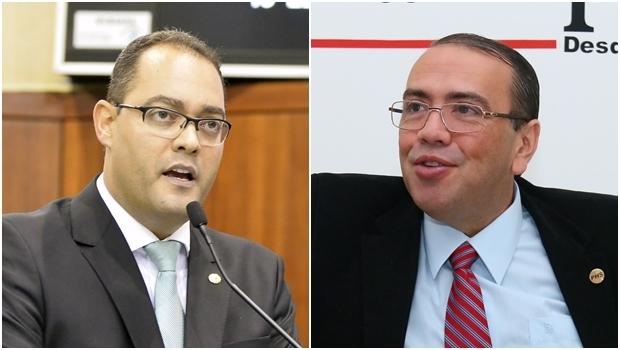 Eduardo Machado e Virmondes Cruvinel: os integrantes do PHS e do PPS são mencionados para vice