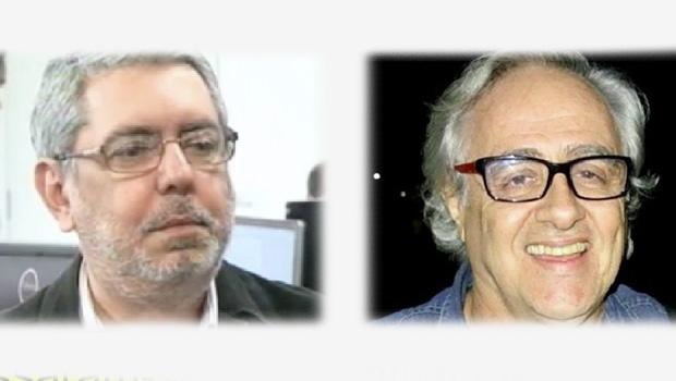 Ricardo Melo e Laerte Rimoli: jornalistas competentes e sérios
