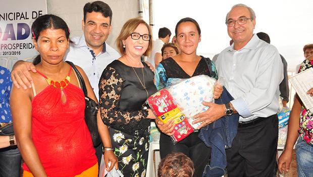 Prefeitura itinerante beneficia  população de Trindade pela 14ª