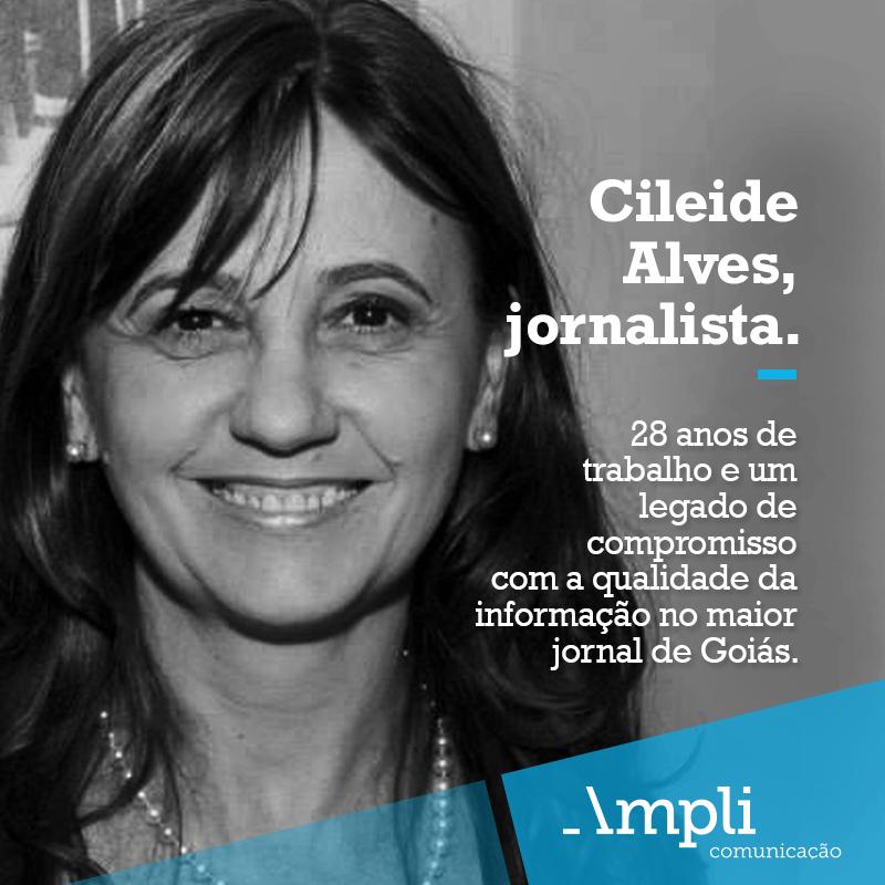 """Cileide Alves explica sua saída de O Popular. PMDB e governo disputam seu """"passe"""""""