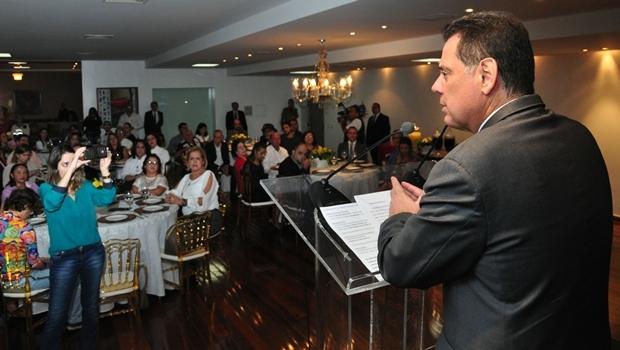 Durante lançamento do Circuito Gastronômico Goiás, governador Marconi Perillo (PSDB) disse que momento é de preocupação com nova crise no governo federal | Foto: Walter Alves