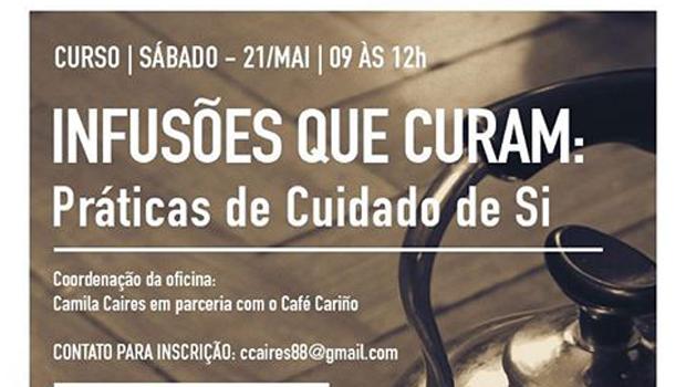 """Camila Caires realizará oficina """"Infusões que Curam"""" no Café Cariño"""