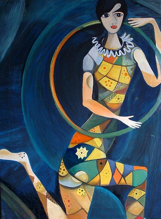 acrobata chagall