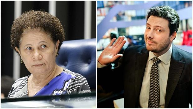 Senadora Regina Sousa processará Danilo Gentili por ofensa no Twitter