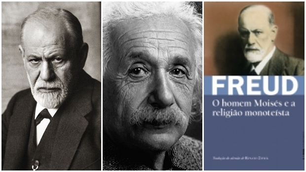 As poderosas conexões entre Albert Einstein, Sigmund Freud e Moisés