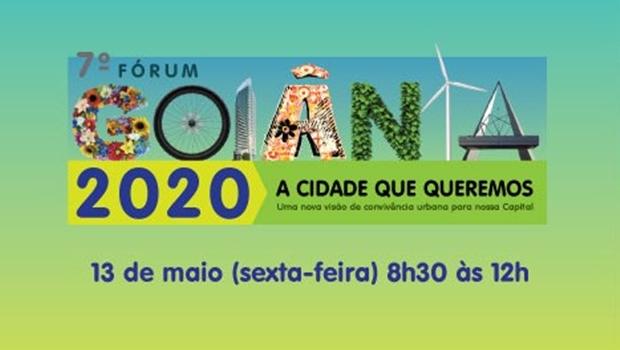 7ª edição do Fórum Goiânia 2020 vai levantar debate sobre valorização da cultura cidadã