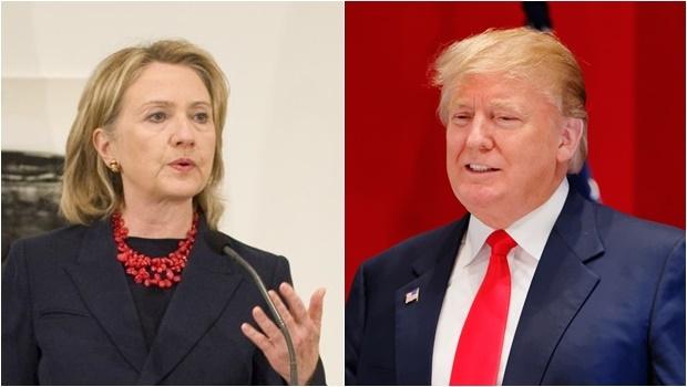 Tudo indica que Hillary e Trump serão mesmo oficializados como candidatos dos seus respectivos partidos | Fotos: US Embassy/ Michael Vadon/ Wikimédia Communs