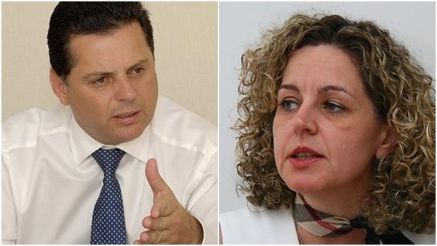 Governador Marconi Perillo e secretária Ana Carla mostram que o ajuste a ser feito na União já foi realizado em Goiás   Fotos: Renan Accioly