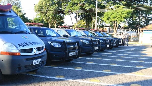 Polícia Militar recebe novas viaturas, armas e equipamentos