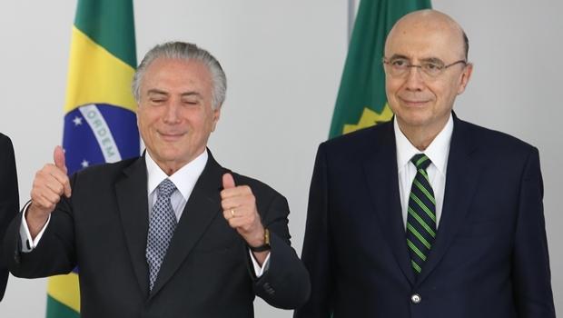 Presidente Michel Temer e o ministro Meirelles: aprovado em Goiânia | Foto Lula Marques/Agência PT