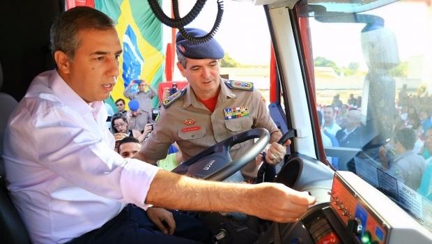 Governo inaugura nova sede do Corpo de Bombeiros em Uruaçu
