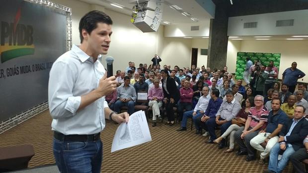 Daniel Vilela é o nome de mais estatura para disputar a Prefeitura de Goiânia pelo PMDB