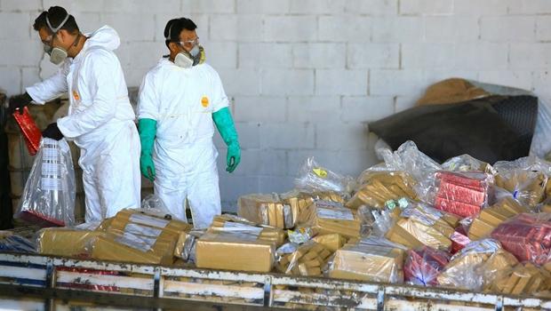 Segurança Pública incinera mais de 5 toneladas de drogas apreendidas desde janeiro
