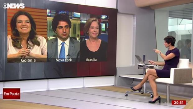 Globo News apresenta ajuste fiscal do governo goiano como referência nacional