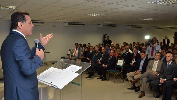 Marconi diz que Goiás soube agarrar oportunidade para ser 1º Estado a sair da crise