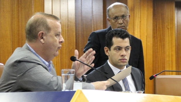 Prefeito Paulo Garcia (PT) durante prestação de contas | Foto: Câmara Municipal de Goiânia