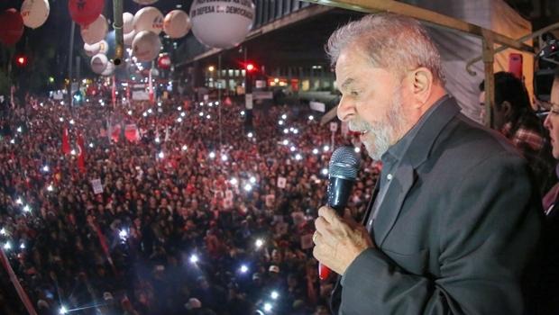 Lula discursa em Ato Contra o Golpe na Avenida Paulista | Foto: Ricardo Stuckert / Instituto Lula