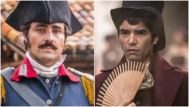 Atores Ricardo Pereira e Caio Blat | Fotos: reprodução/ Rede Globo