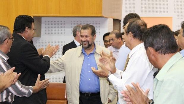 Lupi essteve em Goiânia nesta sexta-feira para sessão solene da Câmara Municipal | Foto: José Queiroz