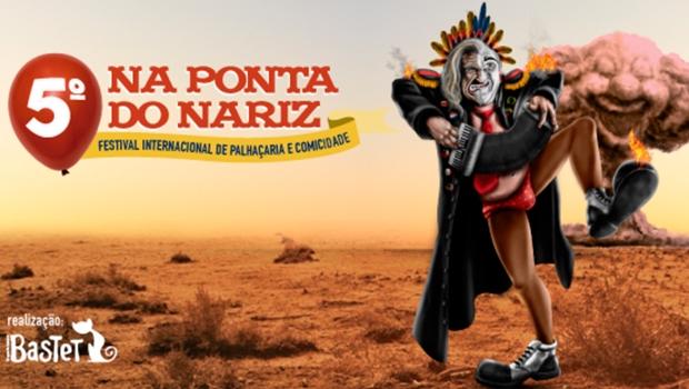 Na Ponta do Nariz festeja o riso em Goiânia