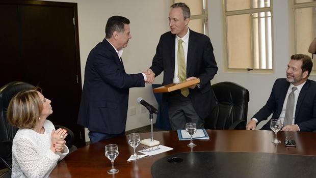Governador Marconi Perillo e presidente do Banco Mundial, | Foto: Divulgação