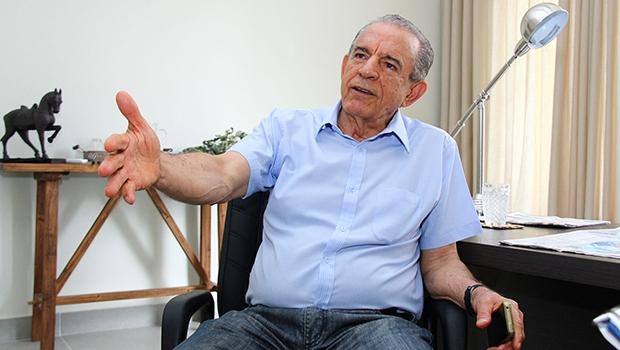 Único nome competitivo do PMDB, Iris Rezende espera que o partido garanta o incremento financeiro